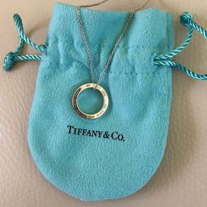 Tiffany & Co. circle pendent necklace
